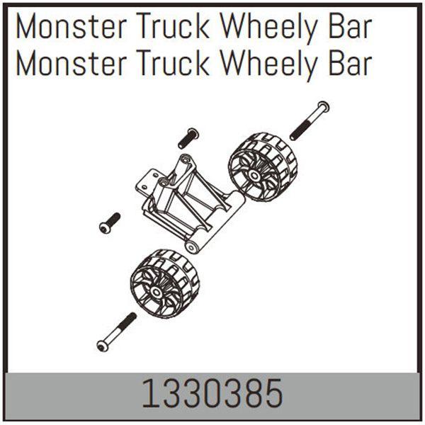 Wheelie bar pour monster truck absima 1330385