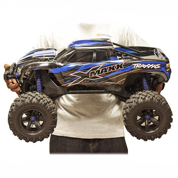 X-MAXX 8S 4WD BRUSHLESS TRAXXAS ROUGE